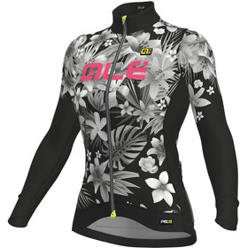 Alé Cycling Graphics PRR Sartana LS Jersey Women nero-rosa fluo/black-fluo pink
